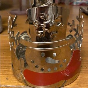 Yankee candle/ candle holder